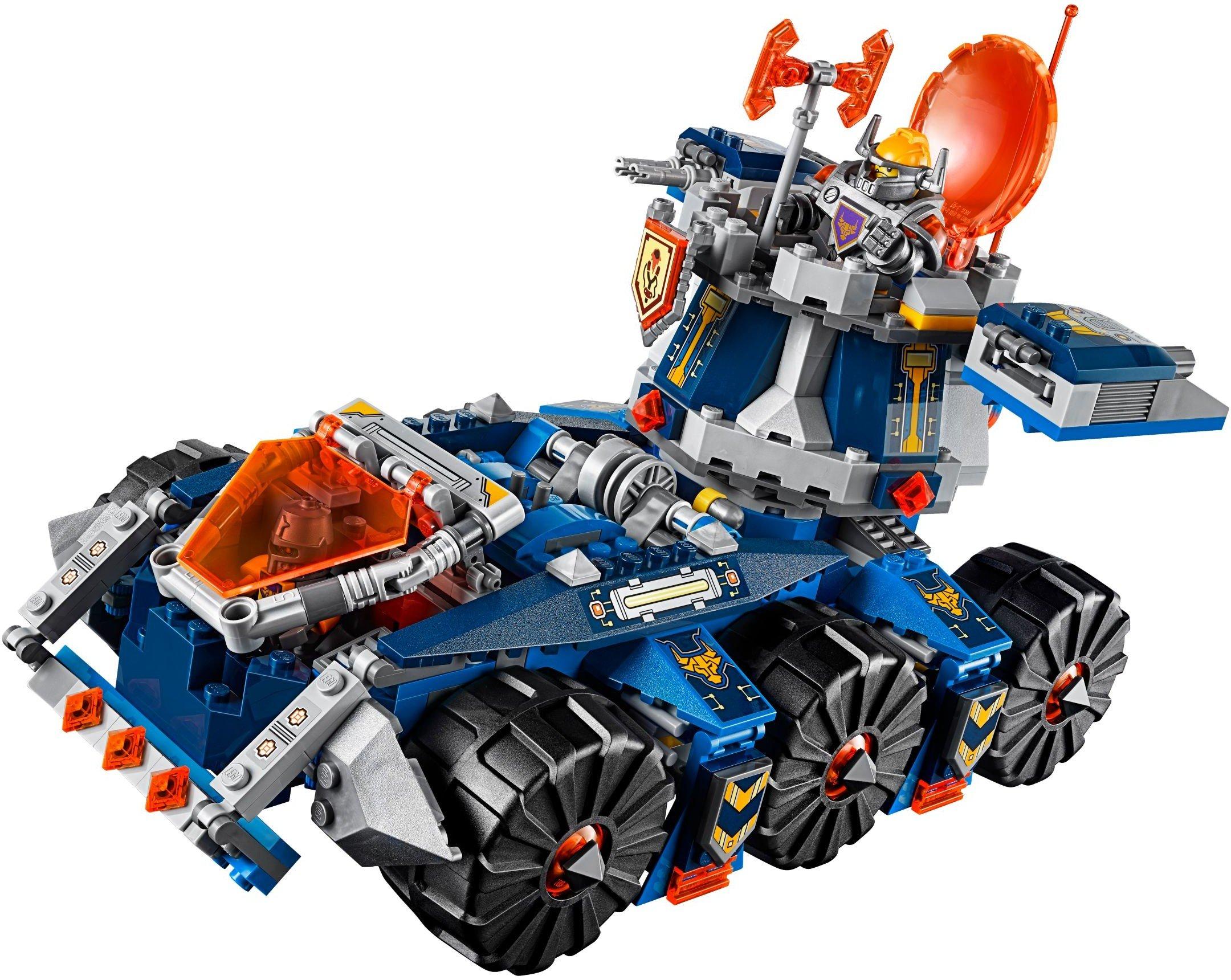 LEGO Nexo Knights Porta Torre di Axl Costruzioni Gioco Bambina Giocattolo, Colore Vari, 70322 3 spesavip