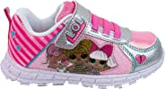 L.O.L. Surprise! Shoes, Light Up Sneaker and Athletic Tennis Shoes with Strap, MC Swag and Rocker, Little Girl/Big Girl Size