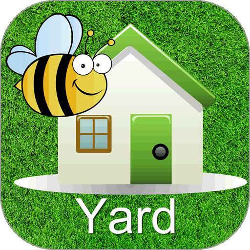 Words Around the HouseTM  - Yard -Video Flashcard Player