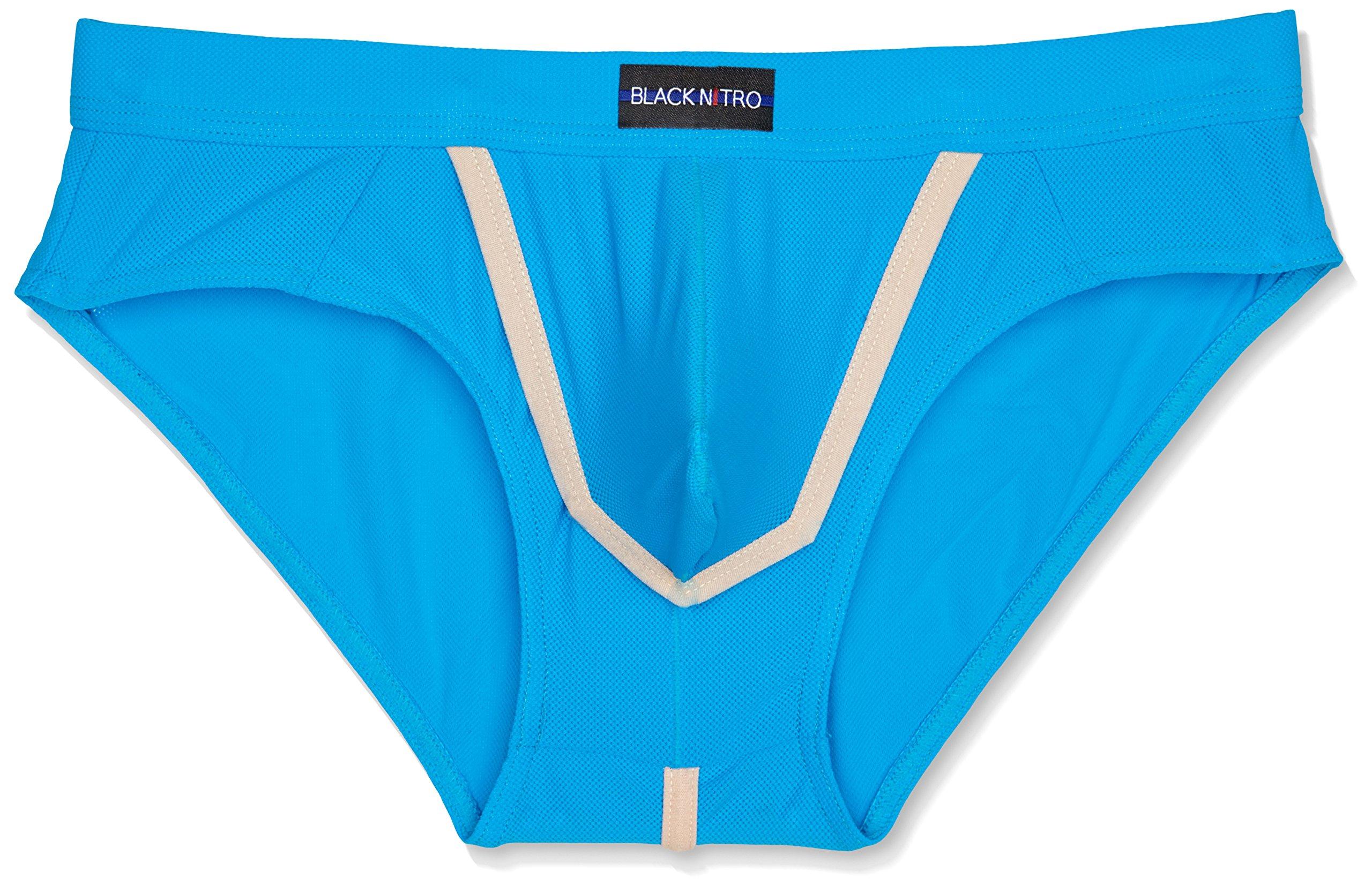 Black Nitro 2011324971, Mutande Uomo, Blu (Blue), Small