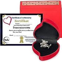 Makai echter Meteorit Sternschnuppe mit Echtheits-Zertifikat Geschenkkarte Box individueller personalisierbarer Karte…