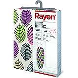 Rayen | Funda para tabla de planchar Universal | Fácil de colocar con sistema EasyClip | 2 capas: Espuma y tejido 100% algodó