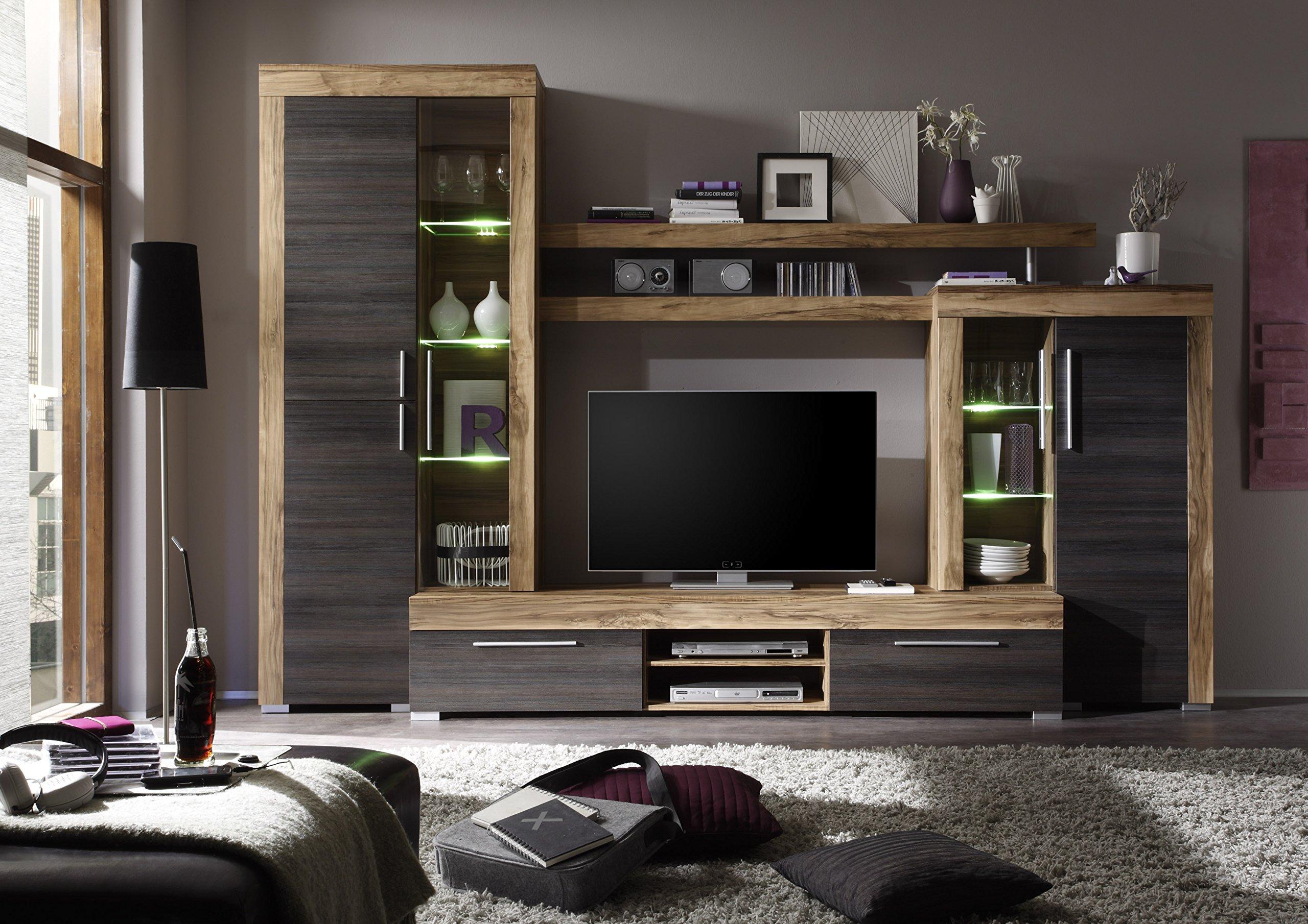 Parete attrezzata soggiorno in legno