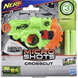 Hasbro Nerf MicroShots Zombie Strike Crosscut, Klassiker-Blaster im Mikroformat