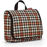 Reisenthel toiletbag XL Glencheck red Kulturtasche, 59 cm, 4L, Glencheck Red