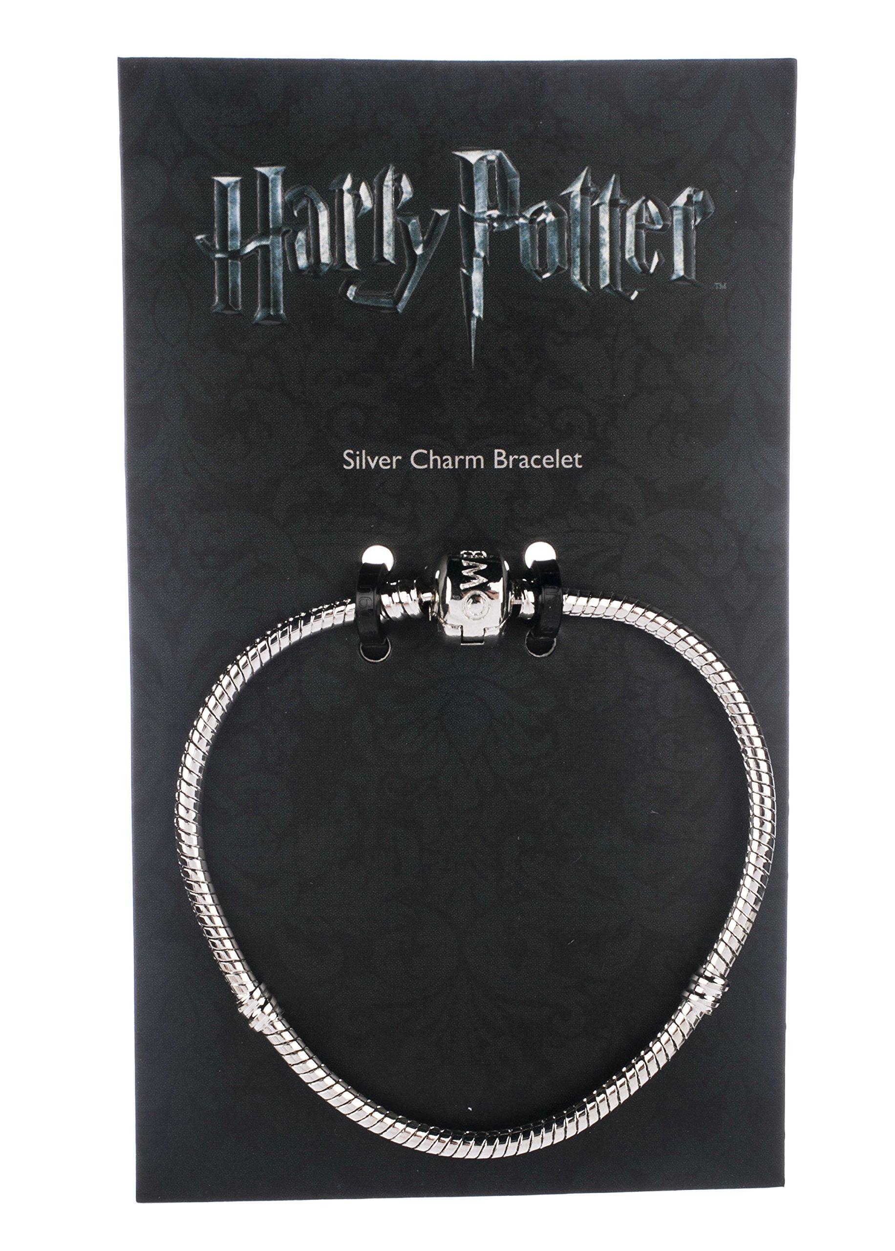 Harry Potter Slider Charm Braccialetto Bracelet (silver plated) Size M Carat Shop, The
