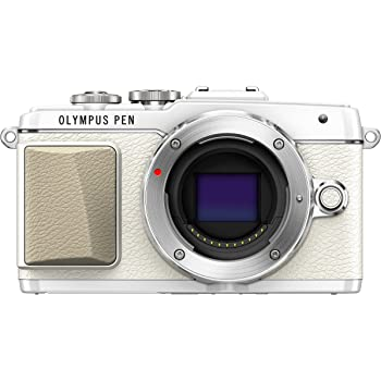 Olympus PEN E-PL7 Interchangeable Lens Camera (16.1 MP, 3.0 inch Touchscreen LCD) - White