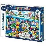 Clementoni 27884.8 - Puzzle Disney Zug, 104 Teile