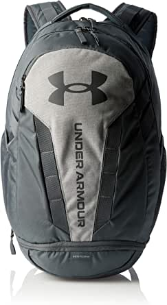Under Armour Adult Hustle 5.0 Backpack , Pitch Gray (012)/Pitch Gray , One Size Fits All