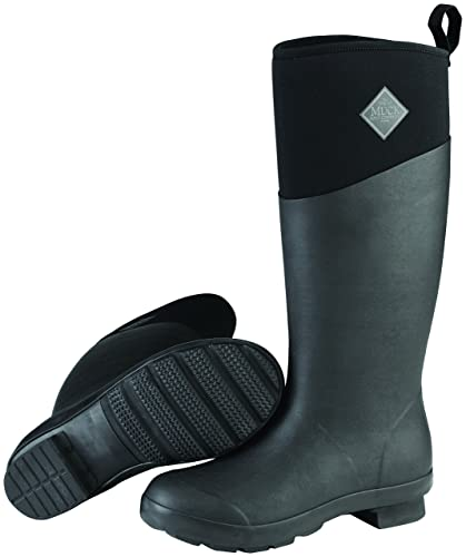 Muck Boots TREMONT Ladies Tall Wellington Boots Matte Black ...