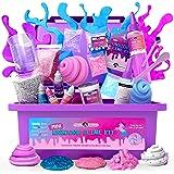 Original Stationery Mini Unicorn Slime Kit for Girls - Kids Can Make Unicorn Sparkle, Clay, Foam, Jelly Cube Slime