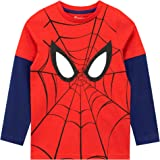 Marvel Camiseta de Manga Larga para niños Spiderman