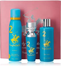 Beverly Hills Polo Club Gift Set 2 for Women (Eau De Toilette, Body Wash and Deodorant)