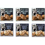 Paul Hollywood 4 Ready to Bake Multi-Seed Rolls + 4 Ready to Bake Crusty Rolls , 200 g - Pack of 6 (Total 24 Rolls)