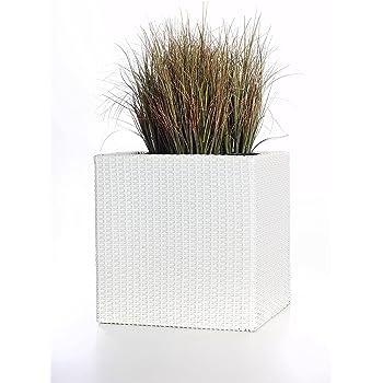 Polyrattan Blumenkübel Pflanzgefäße Pflanzkübel Übertöpfe \