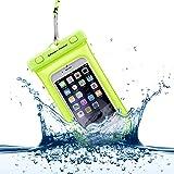 Power Theory Wasserdichte Handyhülle - Wasserfeste Handytasche Handyschutz Cover Beutel Beachbag Tasche Handy Hülle Waterproof Case - iPhone X/XS 8 7 6s Samsung S10 S9 S8 S7 und viele mehr