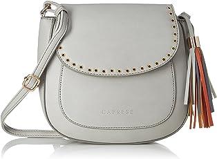 Caprese Lian Women's Sling Bag (Light Grey)