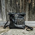"TWL Leather Motorcycle bag""Cafe Racer"" Handmade in italy borsone moto motocicletta borsa zaino pelle cuoio artigianale..."