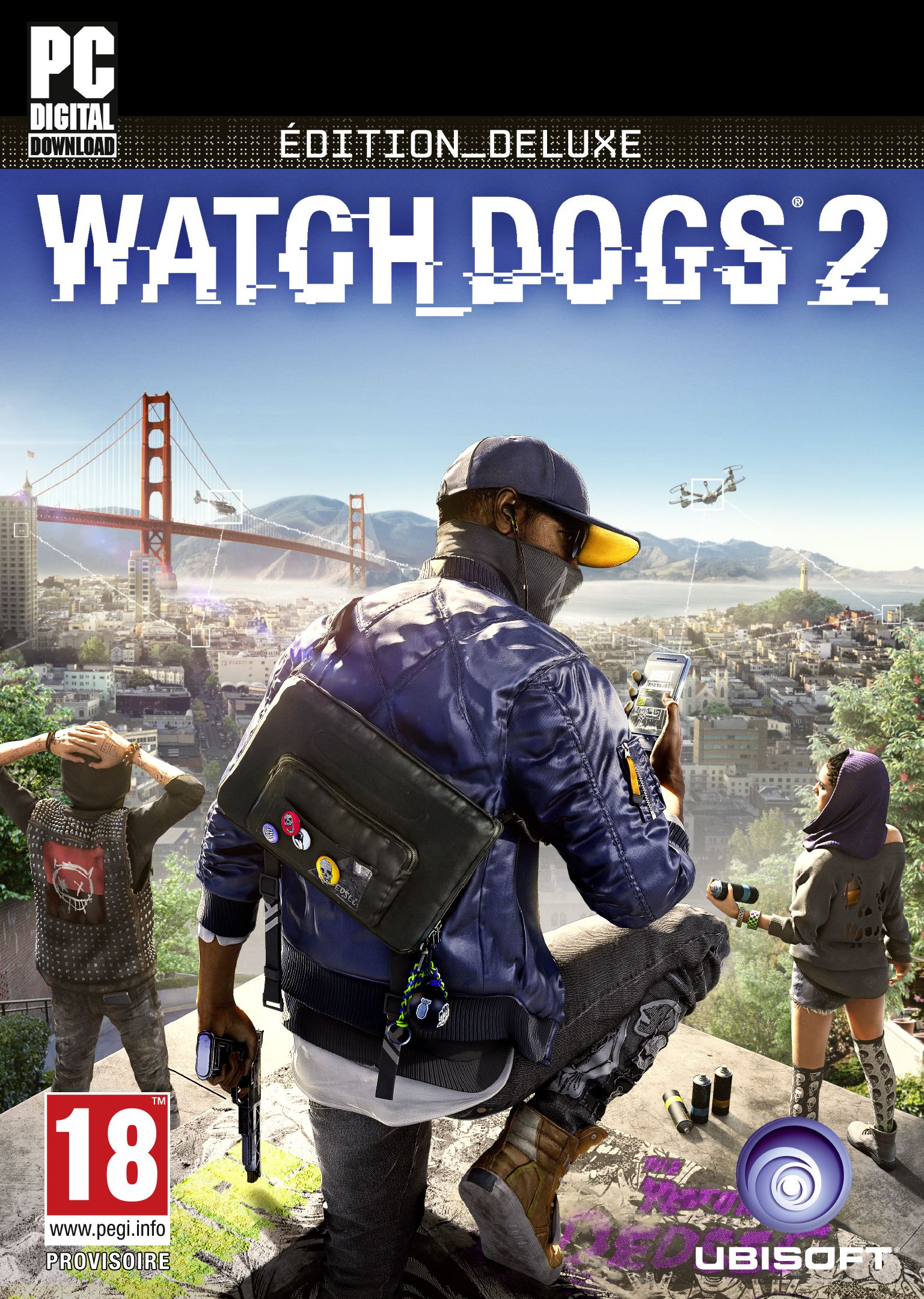 Watch_Dogs 2 - Deluxe Edition [Code Jeu PC - Uplay]