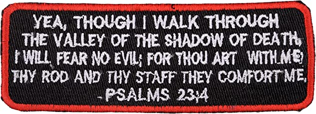 Biker Patches Embroidered Sew On (12 cm x 4 cm x 1 cm)