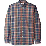Goodthreads Standard-Fit Long-Sleeve Plaid Oxford Shirt Uomo