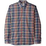 Goodthreads Standard-fit Long-Sleeve Plaid Oxford Shirt Hombre