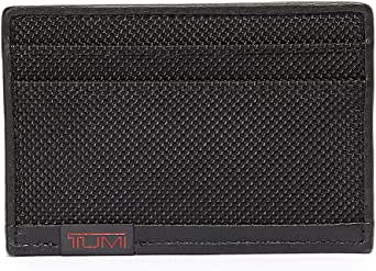 TUMI Men's Alpha Id Lock Slim Card Case Wallet