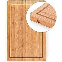 Blumtal Tagliere Cucina Professionale   Legno Bamboo  Misura Piccola 38x25x2 cm