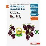 Matematica in azione. Aritmetica-Geometria. Per la Scuola media. Con Contenuto digitale (fornito elettronicamente) (Vol. 2)