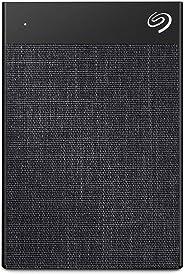 Seagate Backup Plus Ultra Touch 2TB External Hard Drive Portable HDD – Black USB-C USB 3.0, 1yr Mylio Create, 2 Months Adobe CC Photography - Black (STHH2000300)