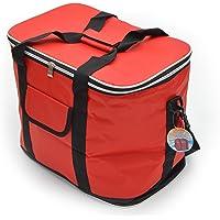 Ocean 5 XXL Kühltasche 30L mit Tragegriffen und Schultergurt - isolierte Faltbare Kühlbox, Isoliertasche für Picknick…