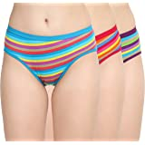 Nohunt Women's Cotton Hipsters (Pack of 3)