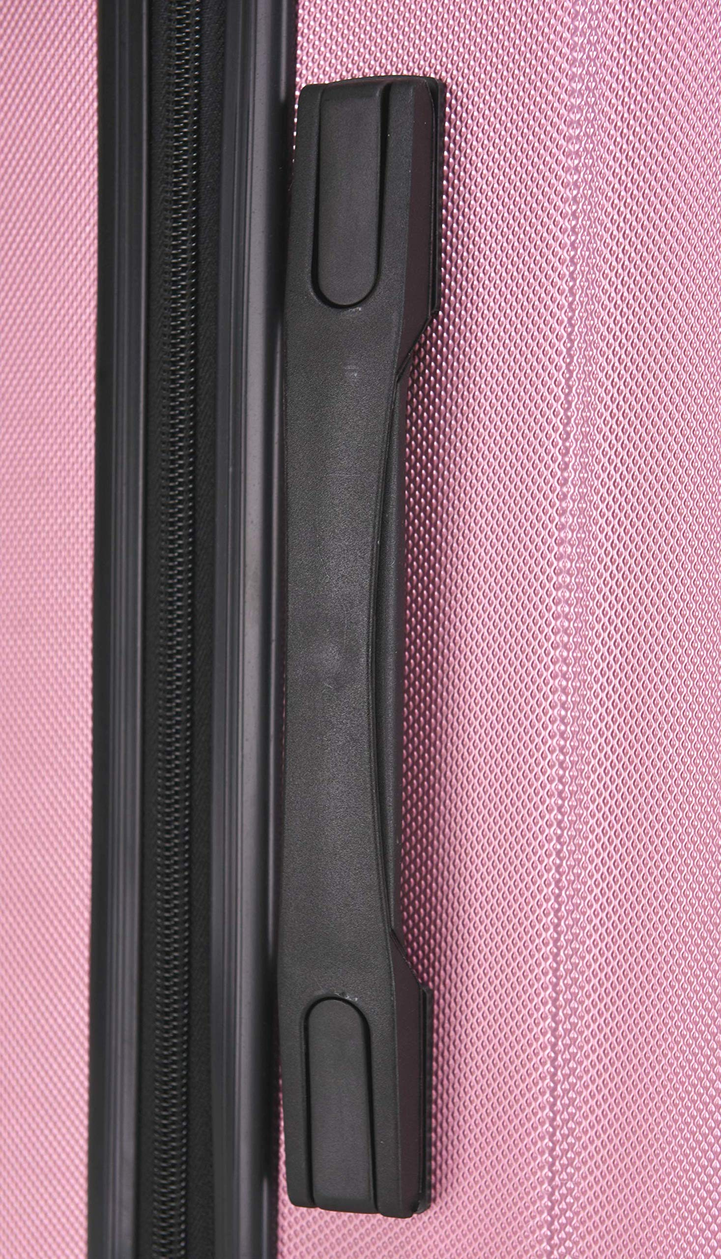 BEIBYE 2045 Hartschale Koffer Kofferset Trolley Reisekoffer Größe XL-L-M in 12 Farben (Pink, L)