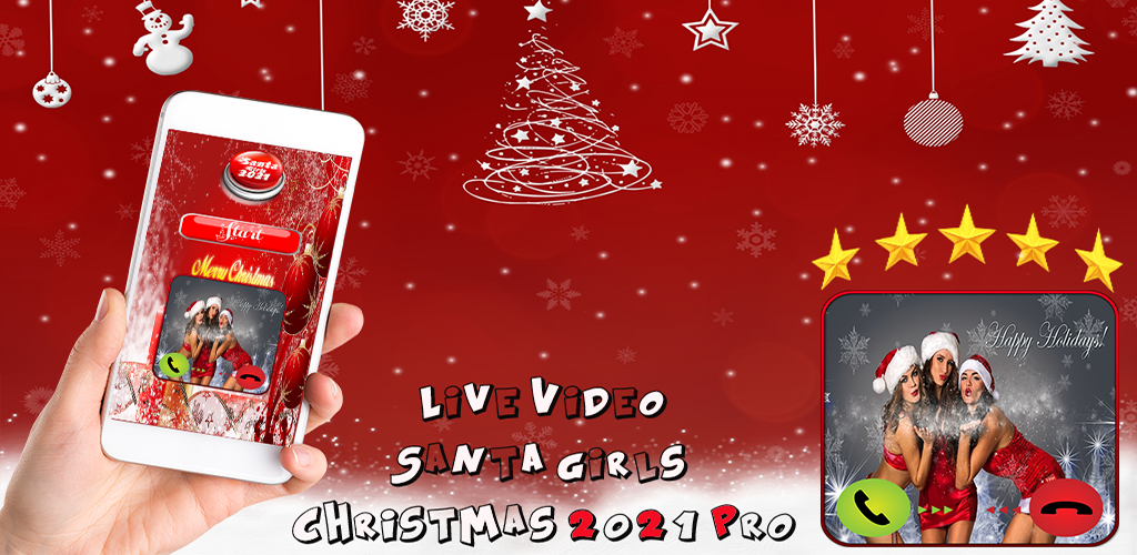 When Its Christmas Eve 2021 Live Video Santa Girls Christmas 2021 Pro Amazon In Appstore For Android
