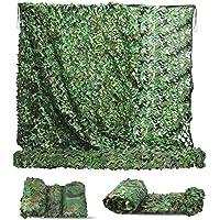 MIKKUPPA 3 x 6 M Filet de Camouflage - Filet d'ombrage Camouflage Renforcé, 210D Bache Camouflage Militaire Durable…