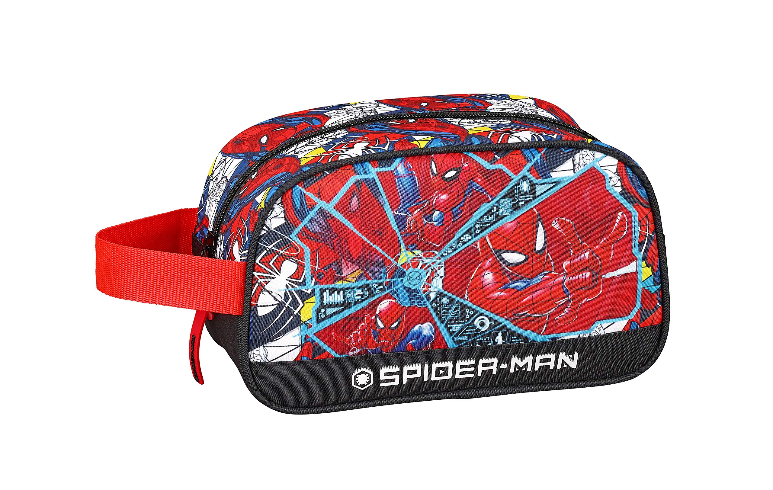 Spiderman «Super Hero» Oficial Mochila Escolar Infantil Mediano con Asa 260x120x150mm
