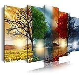 DekoArte 243 - Cuadros Modernos Impresión de Imagen Artística Digitalizada | Lienzo Decorativo Para Salón o Dormitorio | Esti