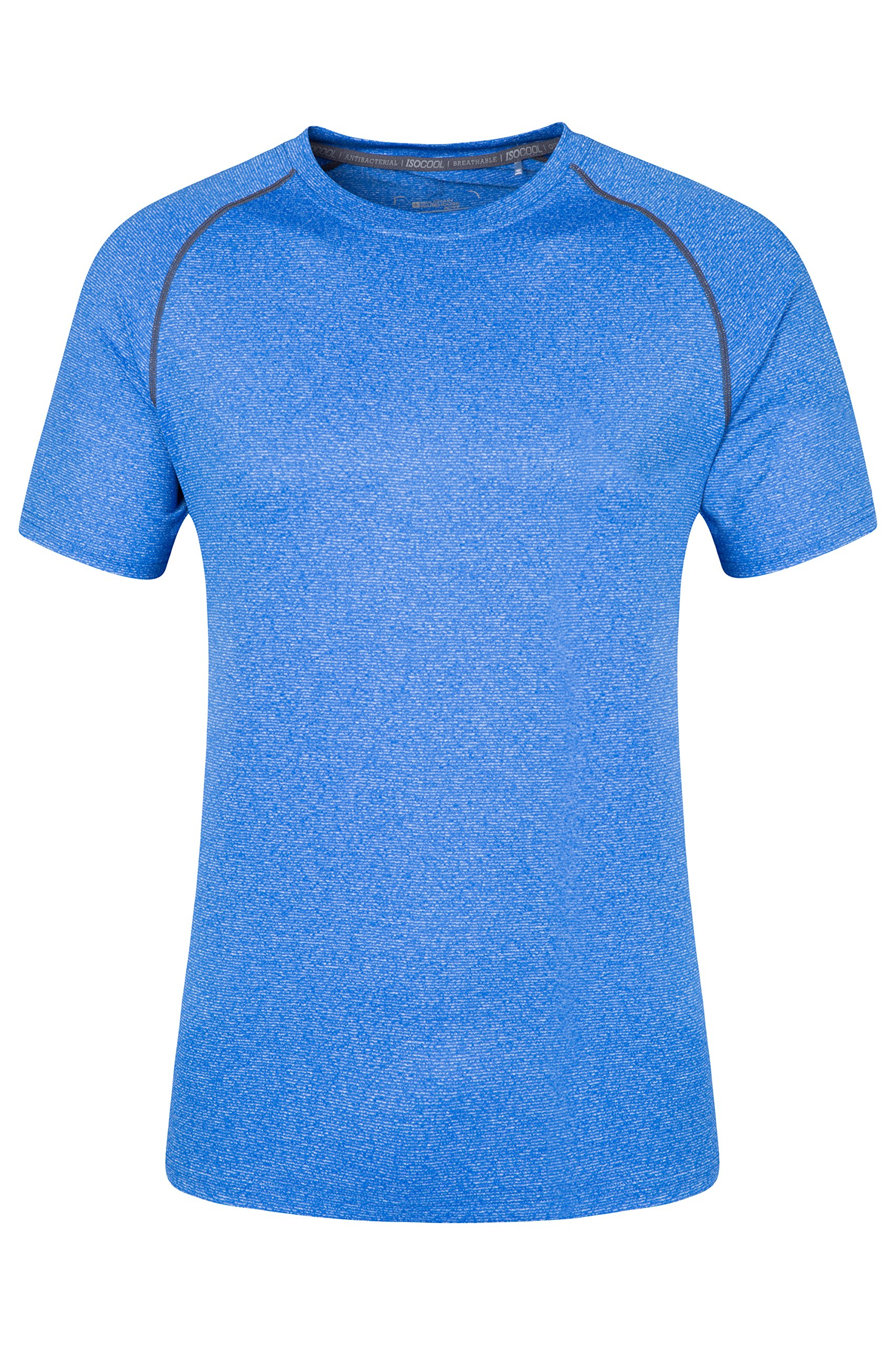 91GsAL476aL - Mountain Warehouse IsoCool Agra Mens Striped Tee - UPF30+ UV Protection Spring T-Shirt, Lightweight Tshirt, Quick Dry, Breathable Top - for Travelling, Hiking & Daily