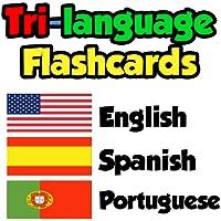 Flashcards - English, Spanish, Portuguese
