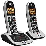 BT 4600 Twin Big Button Digital Cordless Answerphone with Advanced Call Blocking (Renewed)