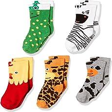 Bonjour Boys' Ankle Socks (Pack of 5)