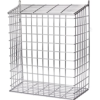Easipet Front Door Letter Cage or Mail Catcher in White Medium Large Extra Large Extra Large 696