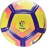 Nike La Liga Pitch Football  Size 5  Yellow/Orange/Purpleblack/