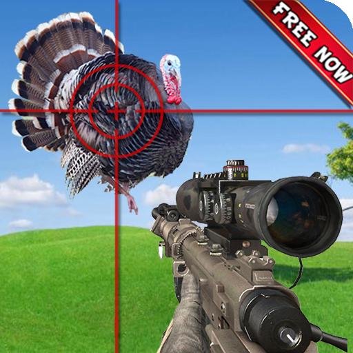 TURKEY HUNTING CLASSIC: Wild Animal Hunter Shooting Games