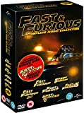 Fast & Furious 1-6 (includes sneak peek of Fast & Furious 7) [DVD] [2015]