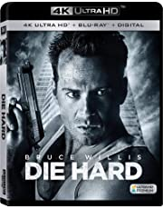 Die Hard (Uncut) [4K Ultra HD/Blu-ray] (1988) | Imported from USA | 20th Century Fox | 132 min | Action Thriller IMDB Top 250 | Director: John McTiernan | Starring: Bruce Willis, Alan Rickman
