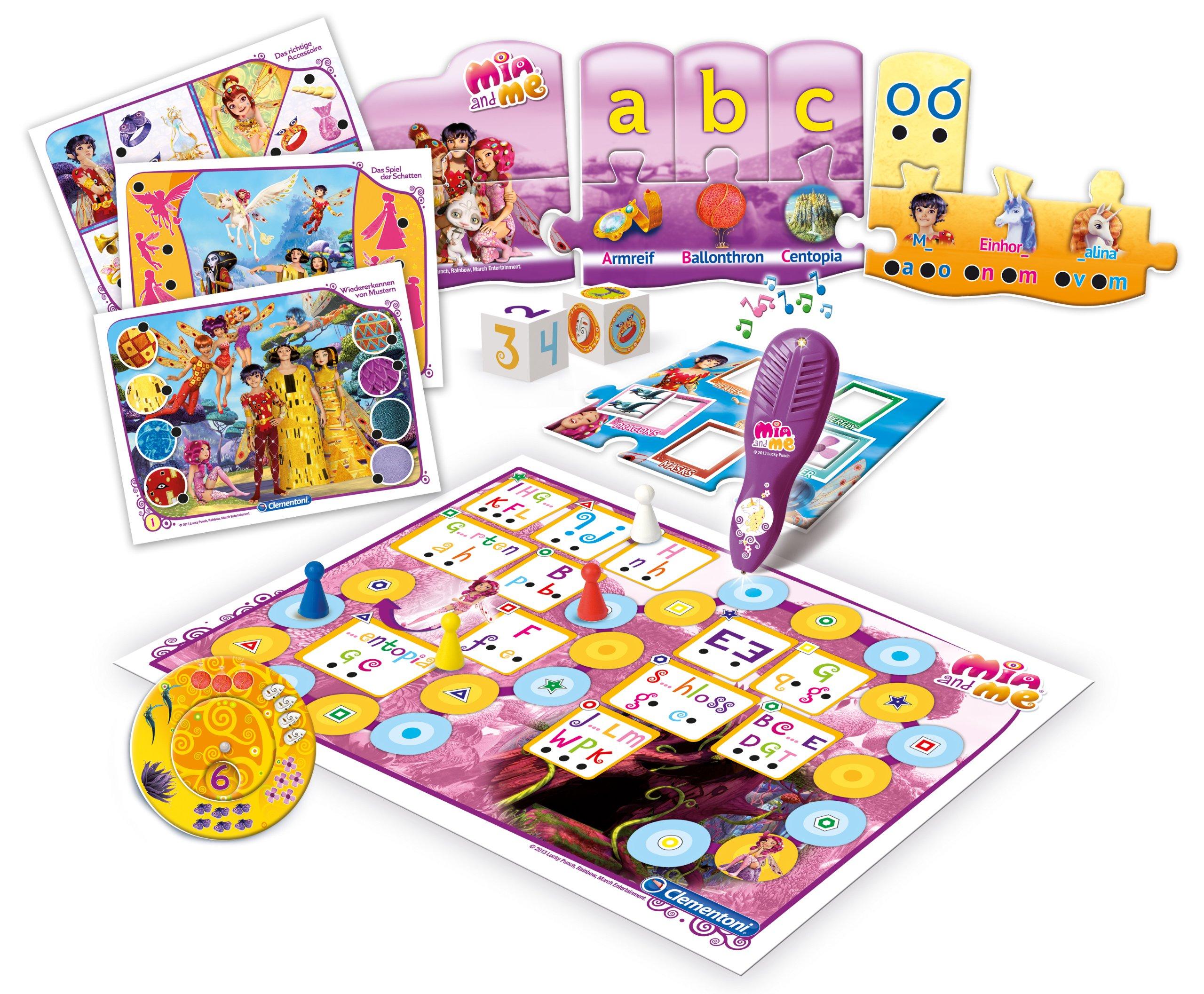Clementoni-691821-20-Spiele-in-1-Mia-und-me