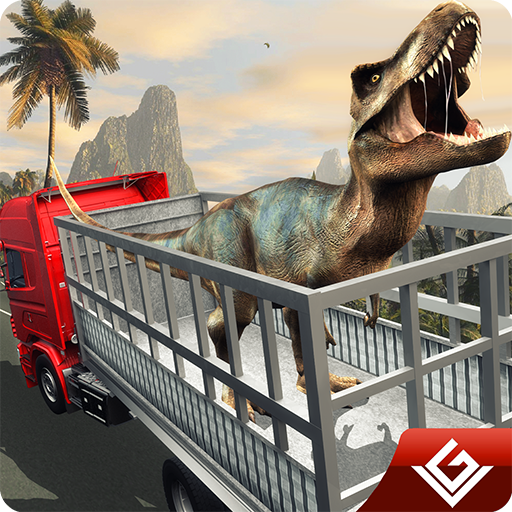Angry Dinosaur Transport Tycoon Deluxe 3D: Wild Animal Transporter  Monster Truck Driving Simulator Adventure Game