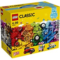 LEGO Classic Bricks on a Roll  Building Blocks for Kids (442 pcs) 10715 (Multi Color)