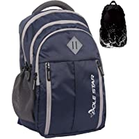 POLESTAR ENZO 35 ltrs Navy casual backpack /bag with laptop compartment